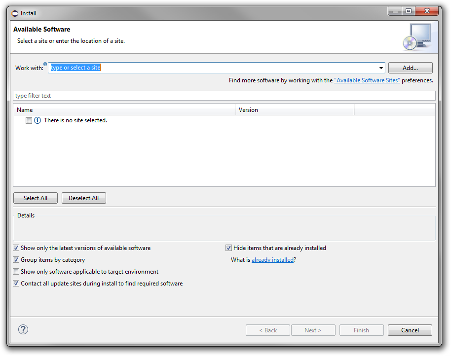 Configuring oracle enterprise pack for eclipse for oracle cloud.