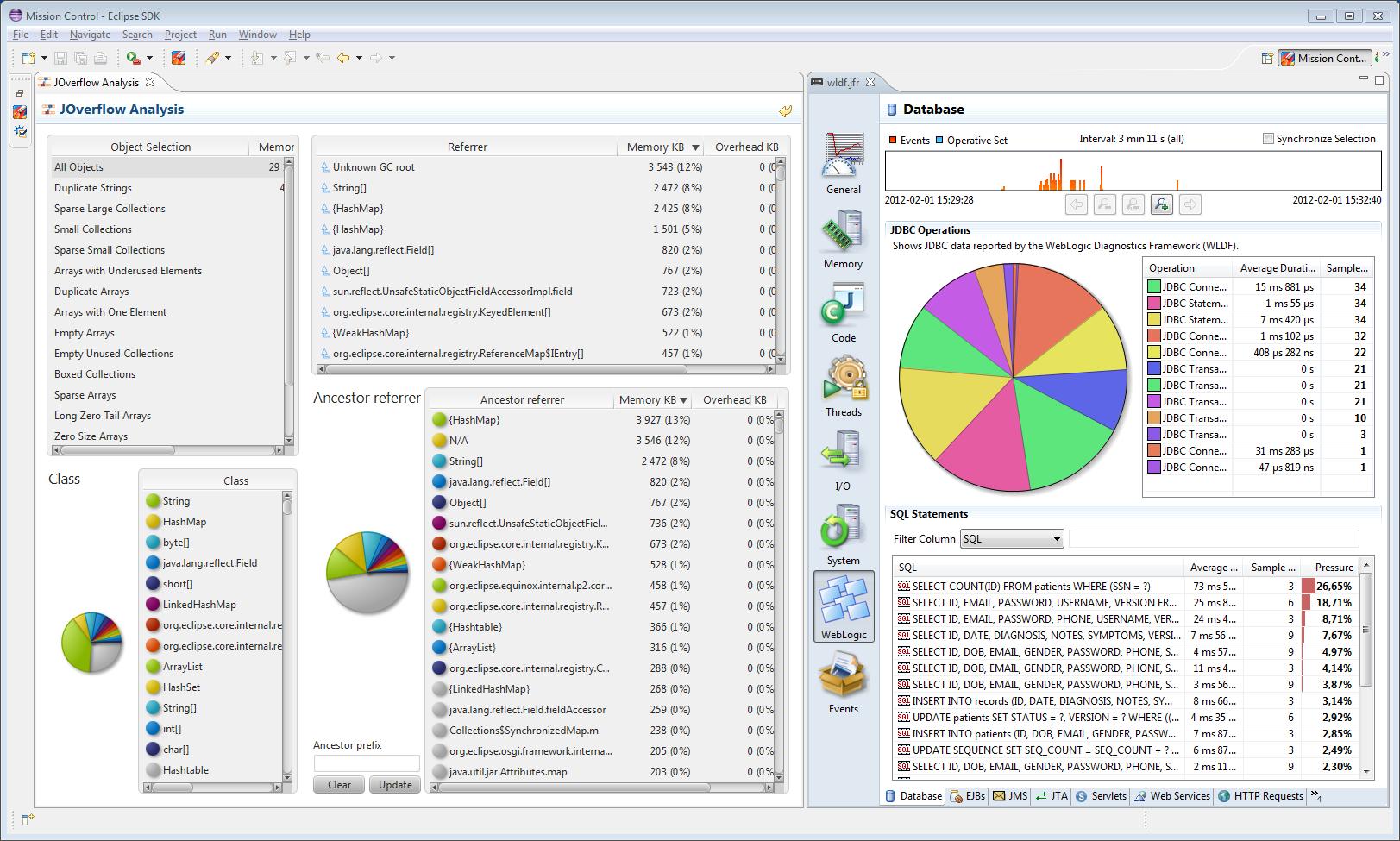 Oracle Java Mission Control Experimental Plug-ins
